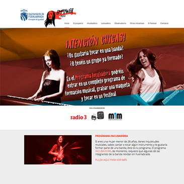 Empowermusic Web | Diseño Web Wordpress